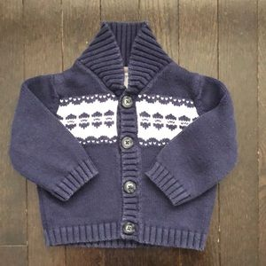 Carter's 6-9 month knit cardigan sweater